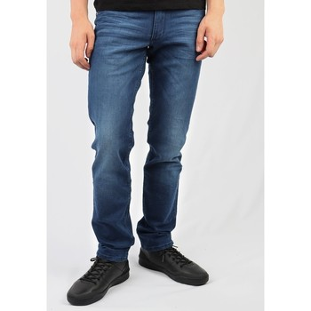 Vêtements Homme Jeans droit Wrangler Greensboro W15QEH76 niebieski