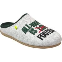 Chaussures Homme Chaussons Hot Potatoes Kolssas Gris clair