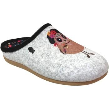 Chaussures Femme Chaussons Hot Potatoes Freital Gris clair