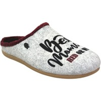 Chaussures Femme Chaussons Hot Potatoes Drosing Gris clair
