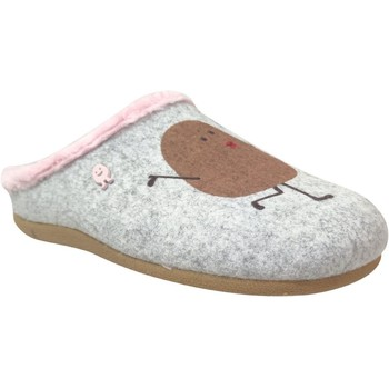 Chaussures Femme Chaussons Hot Potatoes Kontich Gris/Rose