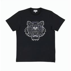 Vêtements T-shirts manches courtes Kenzo T-SHIRT GRADIENT TIGER NOIR