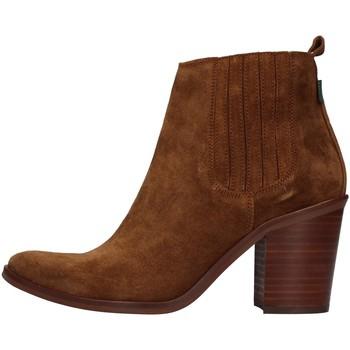 Chaussures Femme Bottines Dakota Boots DKT24 MARRON