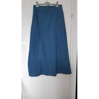 Vêtements Femme Jupes Sans marque Longue jupe en jean Tendance 42 Bleu
