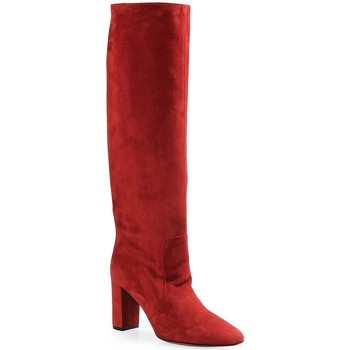 Chaussures Femme Bottes ville Via Roma 15 Bottes Red