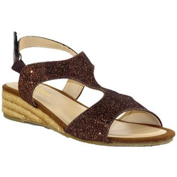 Chaussures Femme Sandales et Nu-pieds Kelara K62283 CAFE GLITTER
