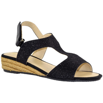 Chaussures Femme Sandales et Nu-pieds Kelara K62283 NOIR GLITTER