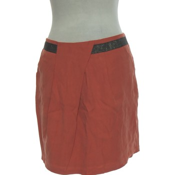 Vêtements Femme Jupes Galeries Lafayette Jupe Courte  40 - T3 - L Rose