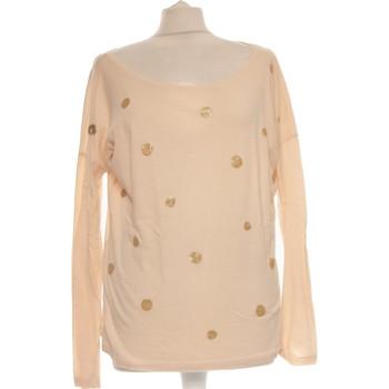 Vêtements Femme Tops / Blouses Des Petits Hauts Top Manches Longues  40 - T3 - L Beige