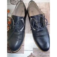 Chaussures Femme Derbies éram Chaussures basses Bleu