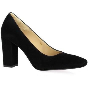 Chaussures Femme Escarpins Vidi Studio Escarpins cuir velours Noir