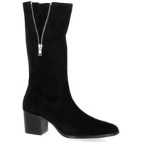 Chaussures Femme Bottes Vidi Studio Bottes cuir velours Noir