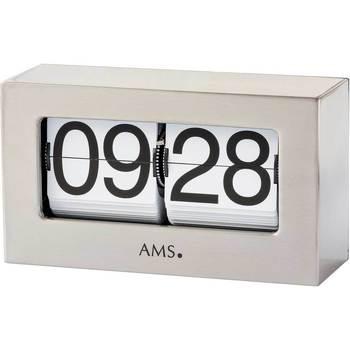 Montres & Bijoux Montres Digitales Ams 1175, Quartz, Silver, Analogue, Classic Argenté
