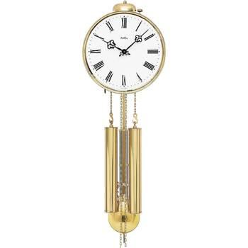 Montres & Bijoux Montres Analogiques Ams 348, Mechanical, White, Analogue, Classic Blanc