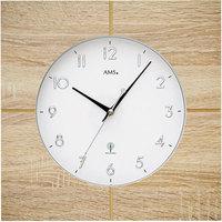 Montres & Bijoux Montres Analogiques Ams 5545, Quartz, White, Analogue, Classic Blanc