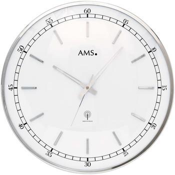 Montres & Bijoux Montres Analogiques Ams 5608, Quartz, White, Analogue, Modern Blanc