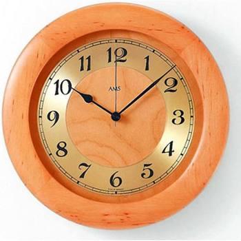 Maison & Déco Horloges Ams 5809/16, Quartz, Gold, Analogue, Rustic Doré