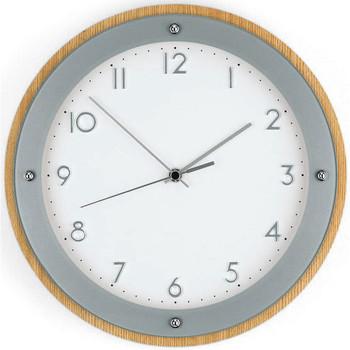 Vêtements de nuit Horloges Ams 5846, Quartz, White, Analogue, Modern Blanc