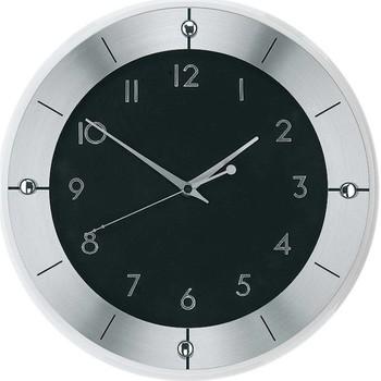 Maison & Déco Horloges Ams 5849, Quartz, Black, Analogue, Modern Noir