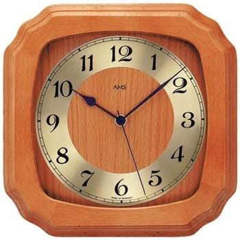 Vêtements de nuit Horloges Ams 5866/9, Quartz, Gold, Analogue, Classic Doré