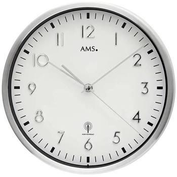 Maison & Déco Horloges Ams 5912, Quartz, White, Analogue, Modern Blanc