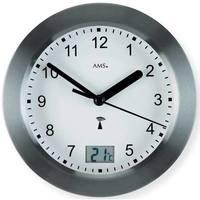 Vêtements de nuit Horloges Ams 5925, Quartz, White, Analogue, Modern Blanc