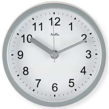 Vêtements de nuit Horloges Ams 5926, Quartz, White, Analogue, Modern Blanc