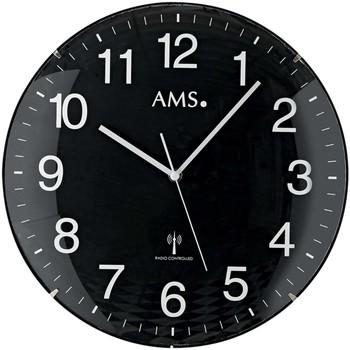 Vêtements de nuit Horloges Ams 5959, Quartz, Black, Analogue, Modern Noir