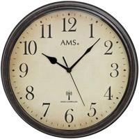 Maison & Déco Horloges Ams 5962, Quartz, Beige, Analogue, Classic Beige