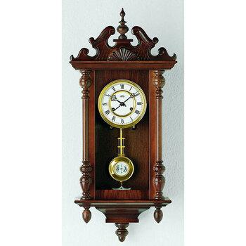 Maison & Déco Horloges Ams 617/1, Mechanical, White, Analogue, Classic Blanc