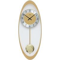 Maison & Déco Horloges Ams 7417, Quartz, Gold, Analogue, Modern Doré