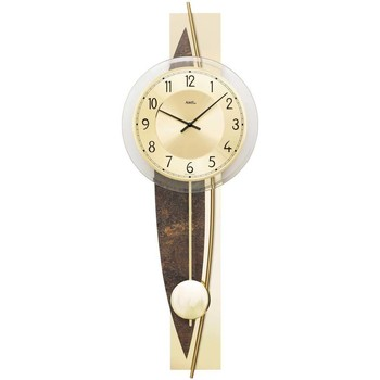 Vêtements de nuit Horloges Ams 7453, Quartz, Gold, Analogue, Modern Doré