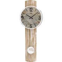 Vêtements de nuit Horloges Ams 7465, Quartz, Grey, Analogue, Modern Gris