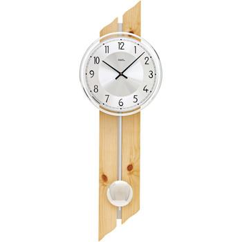 Vêtements de nuit Horloges Ams 7469, Quartz, Silver, Analogue, Classic Argenté