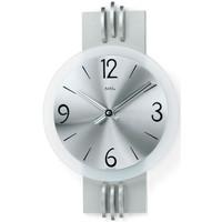 Maison & Déco Horloges Ams 9229, Quartz, Silver, Analogue, Modern Argenté