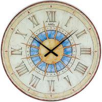 Vêtements de nuit Horloges Ams 9230, Quartz, Beige, Analogue, Modern Beige