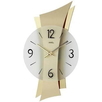 Vêtements de nuit Horloges Ams 9397, Quartz, Transparent, Analogue, Modern Autres
