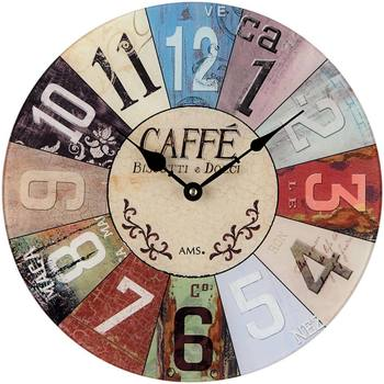 Maison & Déco Horloges Ams 9424, Quartz, Multicolour, Analogue, Modern Autres