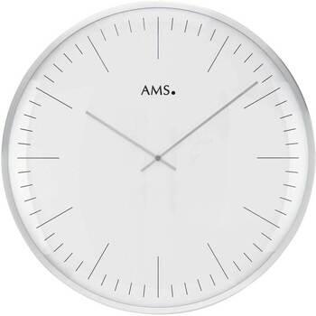 Vêtements de nuit Horloges Ams 9540, Quartz, White, Analogue, Modern Blanc