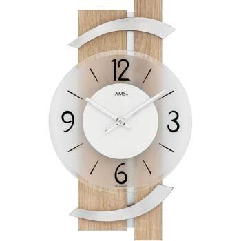 Vêtements de nuit Horloges Ams 9546, Quartz, Transparent, Analogue, Modern Autres