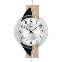 Vêtements de nuit Horloges Ams 9551, Quartz, Silver, Analogue, Modern Argenté