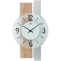 Vêtements de nuit Horloges Ams 9554, Quartz, Silver, Analogue, Modern Argenté