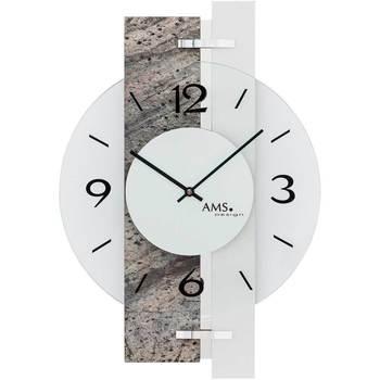 Vêtements de nuit Horloges Ams 9558, Quartz, Transparent, Analogue, Modern Autres
