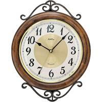 Vêtements de nuit Horloges Ams 9565, Quartz, White, Analogue, Classic Blanc