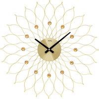 Vêtements de nuit Horloges Ams 9609, Quartz, Gold, Analogue, Modern Doré