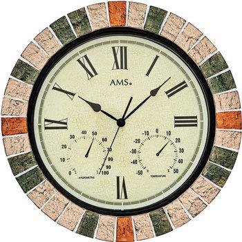 Maison & Déco Horloges Ams 9620, Quartz, Beige, Analogue, Classic Beige
