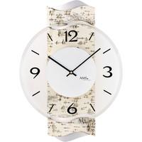 Maison & Déco Horloges Ams 9624, Quartz, Transparent, Analogue, Modern Autres