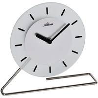 Maison & Déco Horloges Atlanta 3116/19, Quartz, White, Analogue, Modern Blanc