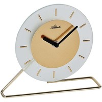 Maison & Déco Horloges Atlanta 3116/9, Quartz, Gold, Analogue, Modern Doré