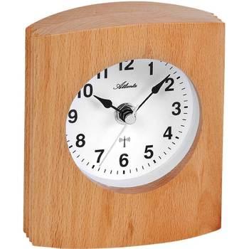 Maison & Déco Horloges Atlanta 3131, Quartz, White, Analogue, Classic Blanc